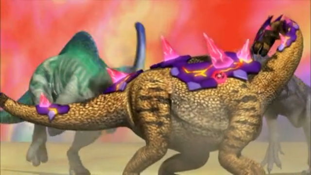 dinosaur king ds game how to get spinosaurus