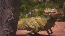 1x2 OrnitholestesOnBrokenJaw'sBack