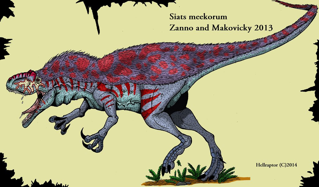 Siats Dinosaur - New Dinosaur Discovered that errorized Early ...