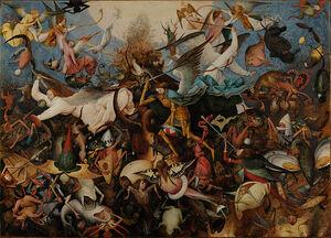 Pieter Bruegel the Elder - The Fall of the Rebel Angels - Google Art Project