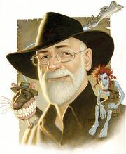 Pratchett portrait