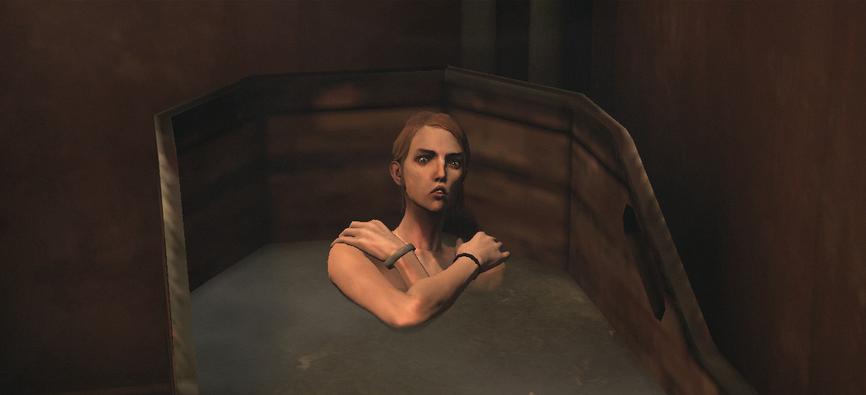 девочка купается а за ней подглядывают видео