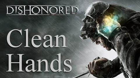 Clean Hands achievement