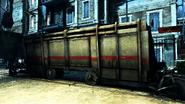 Large train box car