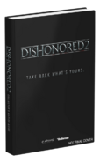 Dishonored 2 Strategy Guide collector cover WIP