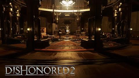 Dishonored 2 –Clockwork Mansion Gameplay Trailer (Low Chaos)