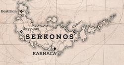 Serkonos on D2 map