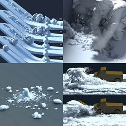 Snow Simulation (Frozen 2013 film)