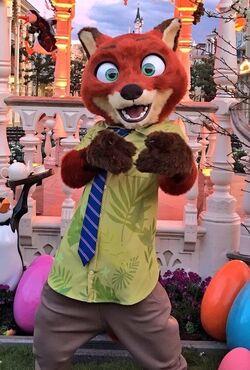 Nick Wilde DisneylandParis