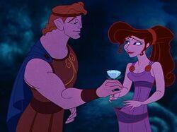 Megara and prince