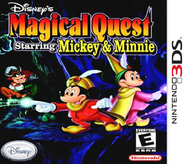 Disney's Magical Quest starring Mickey and Minnie - Nintendo 3DS