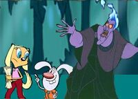 Hades with Brandy & Mr. Whiskers
