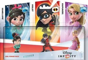Disney Infinity Girl Power Pack