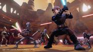 Anakin Commando Droids