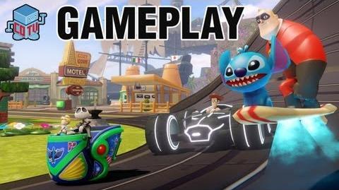 Disney Infinity E3 Gameplay E3M13