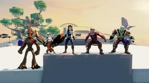 Guardians of the Galaxy Play Set Trailer - Disney Infinity Marvel Super Heroes (2
