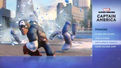 Captain America - Disney Infinity Marvel Super Heroes (2