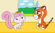 Dreamy flirts with Sultan