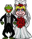 MissPiggy-Kermit Wedding RichB