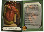 Azmorigan card
