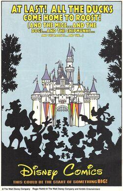 Disney Comics Ad