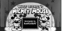 Mickey's Kangaroo