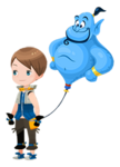 Genie Accessory Kingdom Hearts χ
