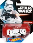 CLY81 Hot Wheels Star Wars Character Car Stormtrooper XXX