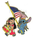 DLR - Mickey's All American Pin Trading Festival - (Lilo & Stitch) Surprise Release
