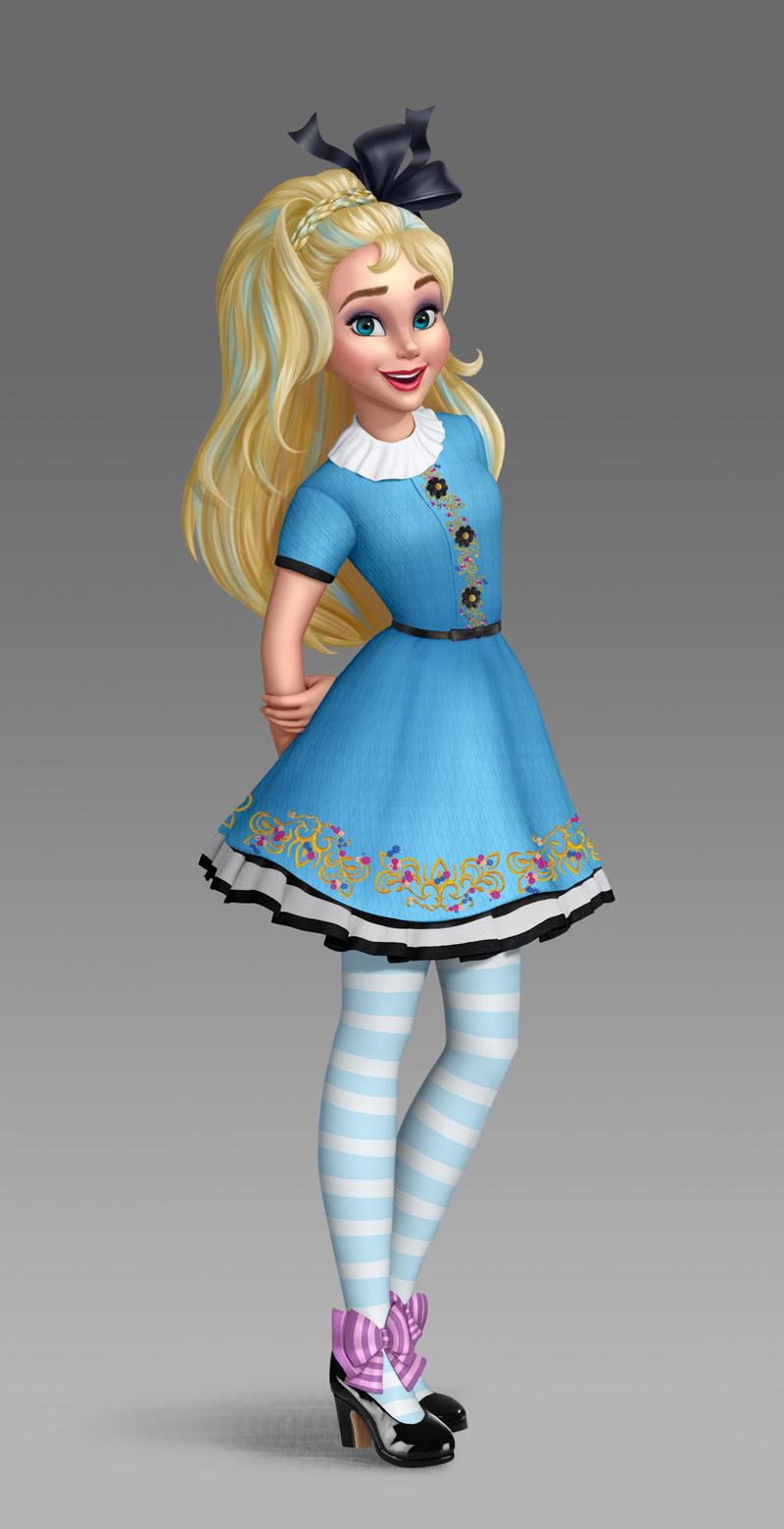 Image Descendants Wicked World Ally Jpg Disney Wiki
