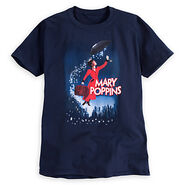 Mary Poppins The Broadway Musical Tee for Adults