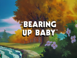 Bearing Up Baby-title card