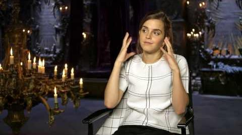 Beauty and the Beast Emma Watson Official Movie Interview