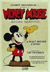 Mickey mouse celebrity productions poster