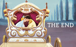 Disney Princess Cinderella's Story Illustraition 15