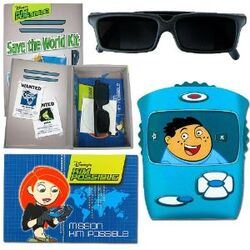Kim Possible Secrt Spy Kit