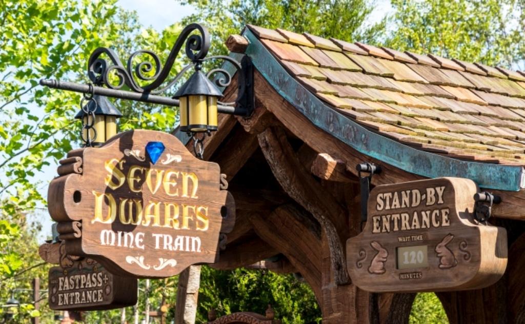Seven Dwarfs Mine Train Disney Wiki Fandom Powered By