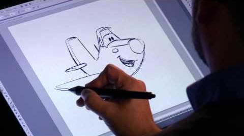 How to Draw Dusty - Planes Fire & Rescue