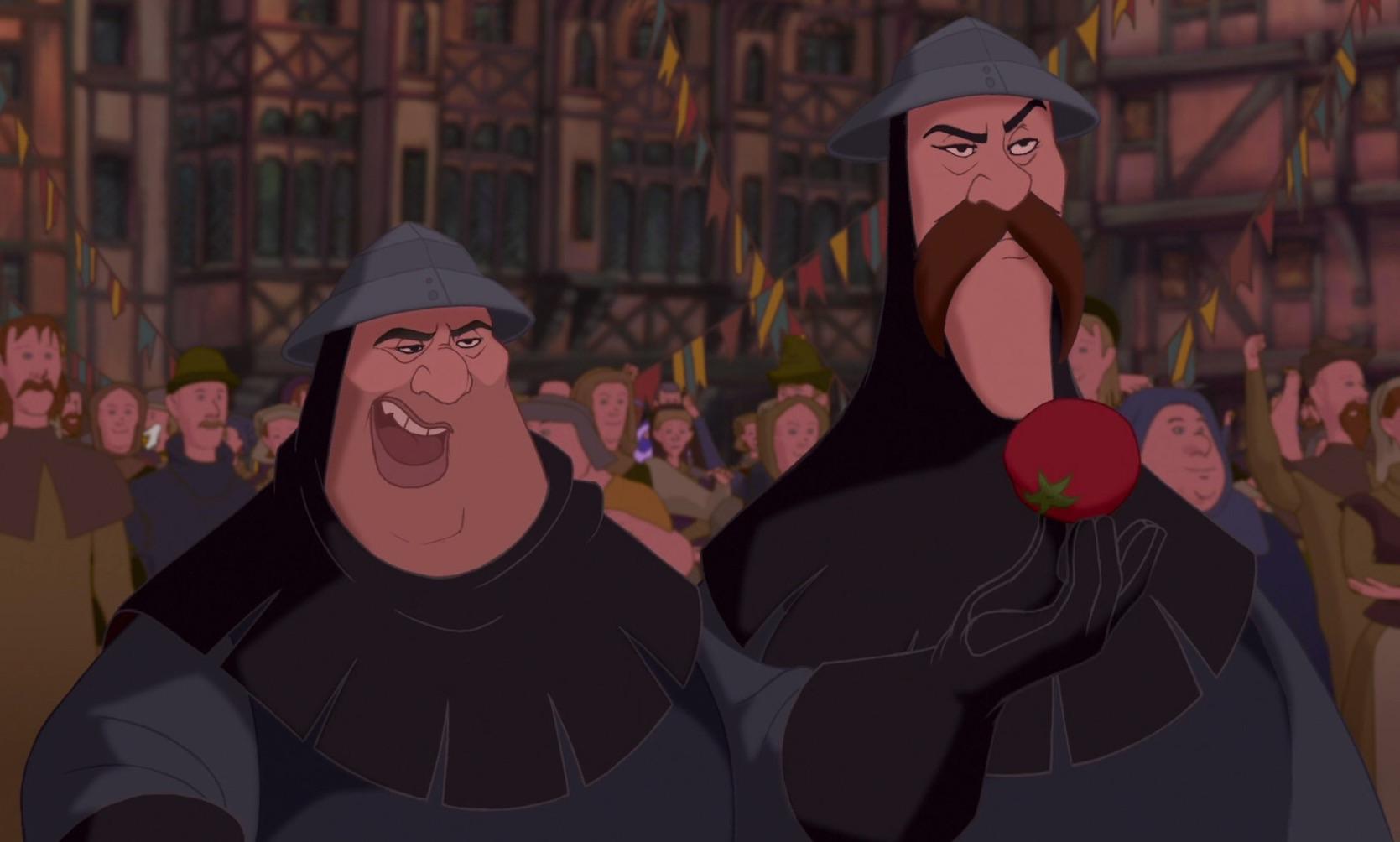 Quasimodo And Madellaine Brutish and Oafish Gua...