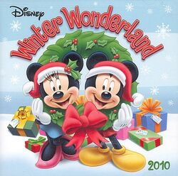 Disney winter wonderland 2010 front cover