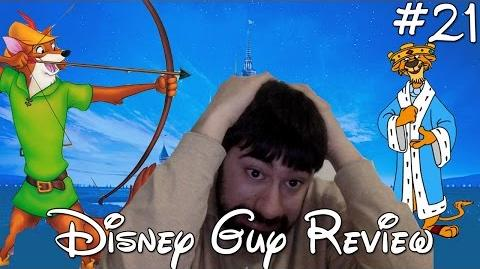 Disney Guy Review - Robin Hood