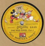 The pied piper record