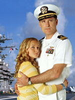 Tiger Cruise Commodore Dolan and Maddie