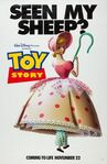 Toy Story Poster Bo Peep Seen My Sheep