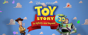 Toy Story at 20 Title Card