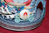 Disney Cinderella Snowglobe This is Love Musical Light Up Slipper Rare-3