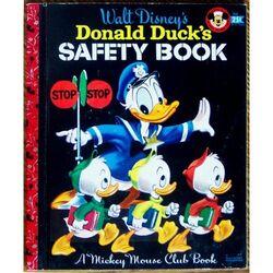 Donald ducks safety book