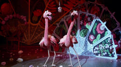 Flamingos - Muppets Most Wanted