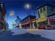 Goof Troop - Spoonerville - Downtown at Night from Forever Goof Part 1