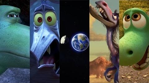 """The Asteroid"" Sneak Peek - The Good Dinosaur"